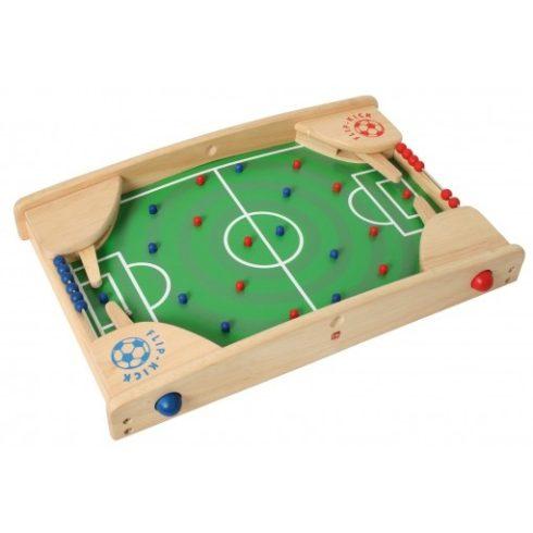 Flipper foci - fa játéktábla