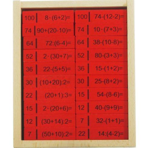 Matematikai alapműveletek dominó