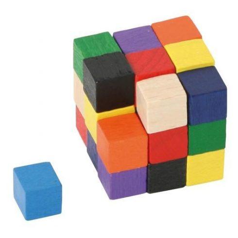 Mini sudoku kocka színekkel