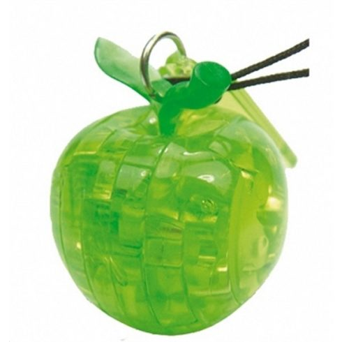 Mini 3D kristálypuzzle - Alma kulcstartóval