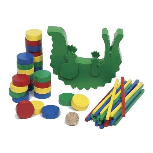 Egyensúlyozó krokodil társasjáték
