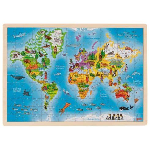 Fa kirakó - Világtérkép