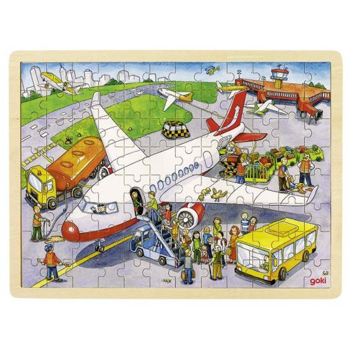 Fa kirakó - Repülőtér
