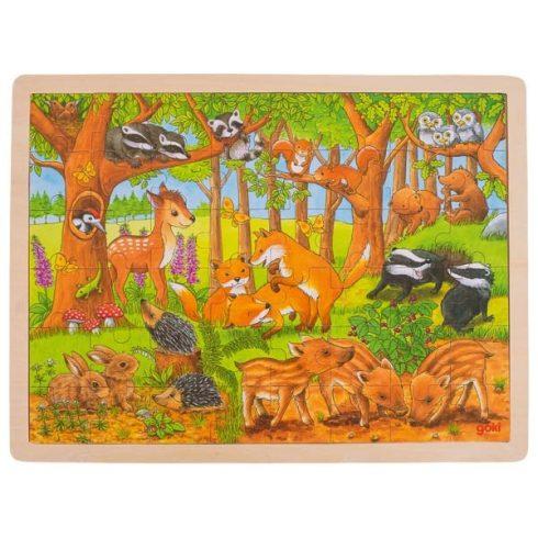 Fa kirakó - Erdei állatok