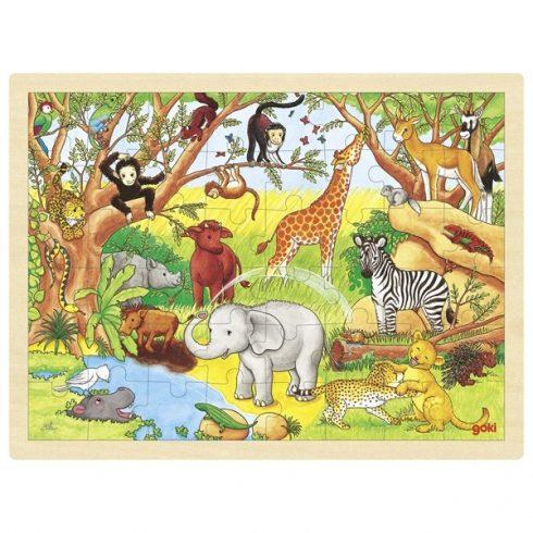 Fa puzzle - Afrika