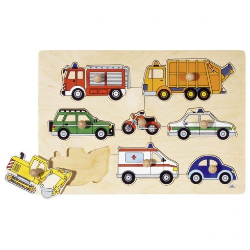 Fa fogantyús kirakó - Járművek