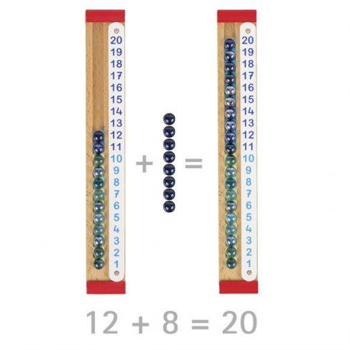 Üveggolyós számoló eszköz