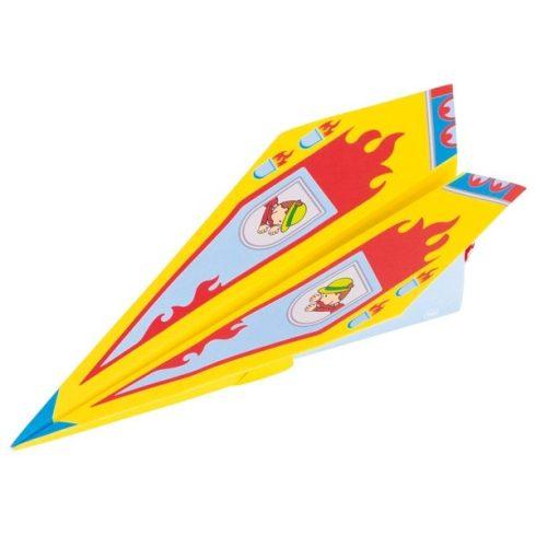Papír repülő hajtogató szett