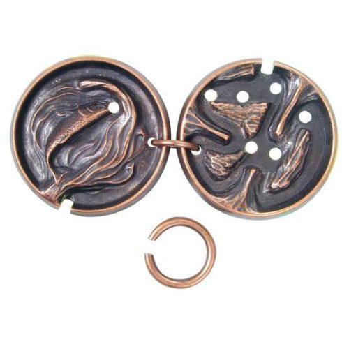Fém ördöglakat - Cast Medal