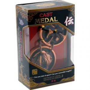 Cast Medal 2-os szintű fém ördöglakat