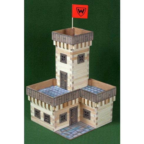 Fa építőjáték - Nyári kastély