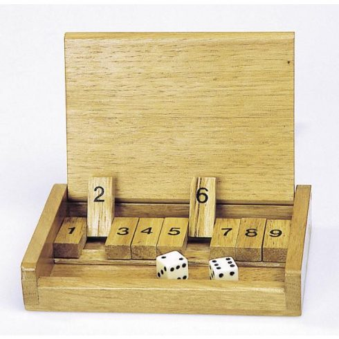 Shut the box társasjáték