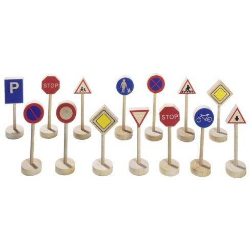Közlekedési táblák, 15 db