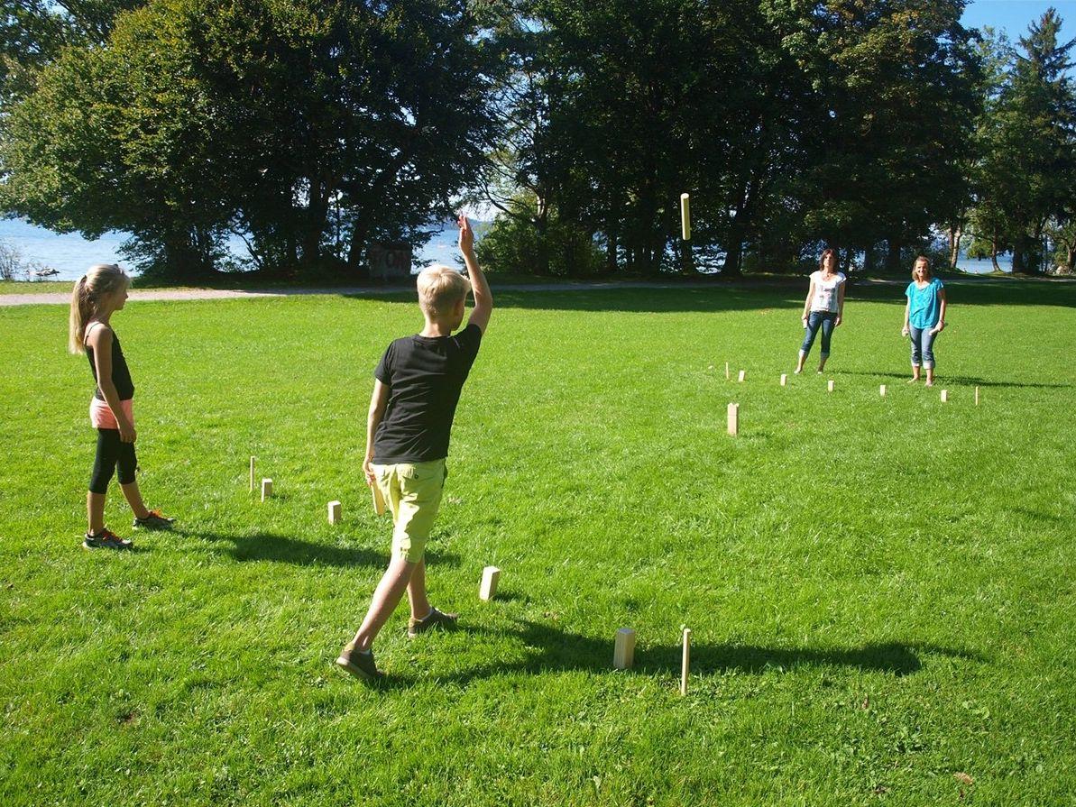 Kubb viking sak játék